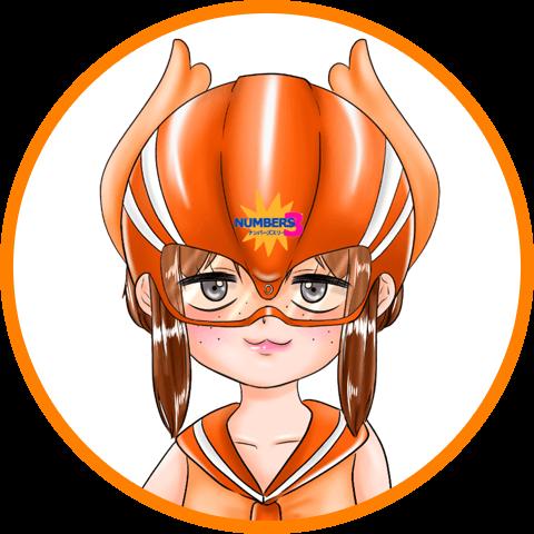 ナンバーズ3オレンジ