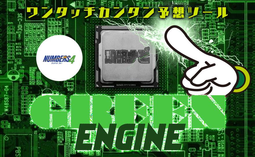 ナンバーズ4 予想ツール【GREEN ENGINE】