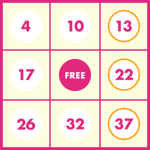 第125回ビンゴ5 当選数字(抽選日2019年09月04日)